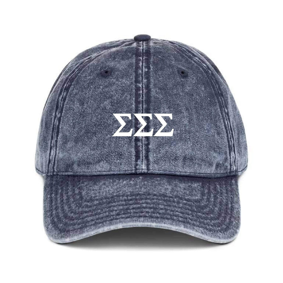 Greek Dad Hat - Navy <br> (available for multiple organizations!)