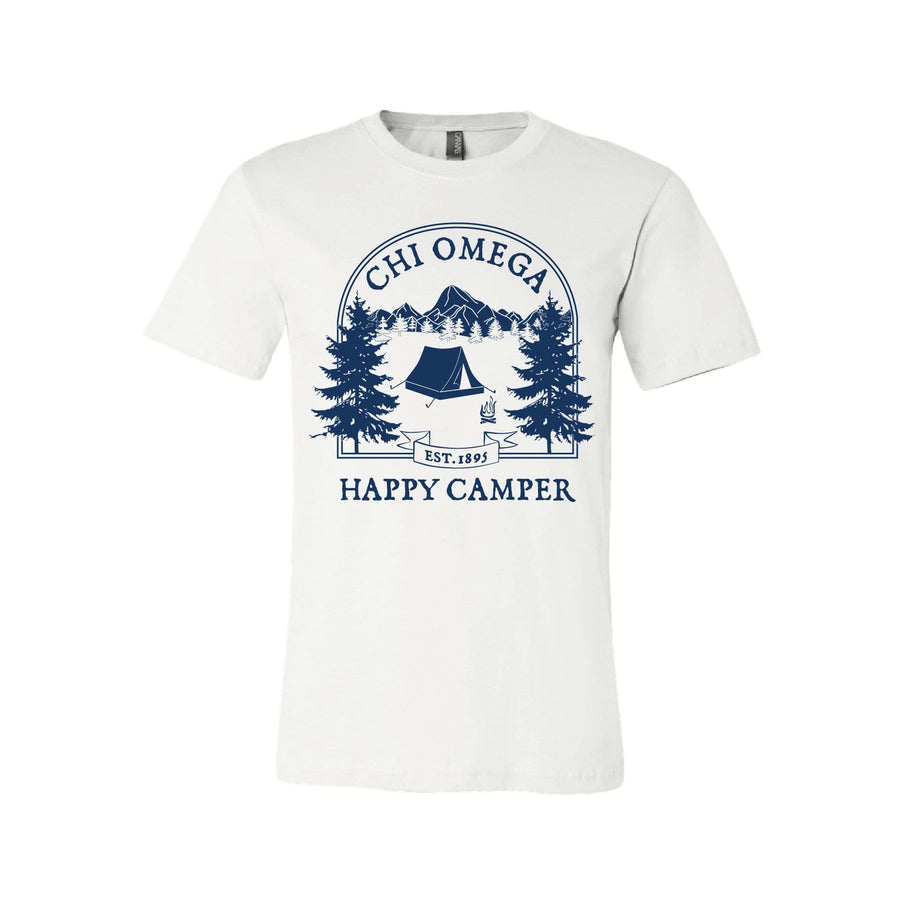 Happy Camper Tee <br> (available for all organizations!)