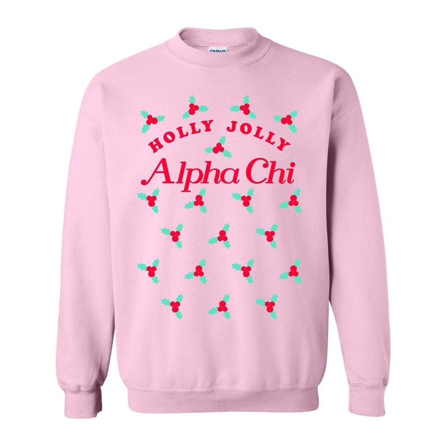Holly Jolly Pink Sweatshirt <br> (available for multiple organizations!)