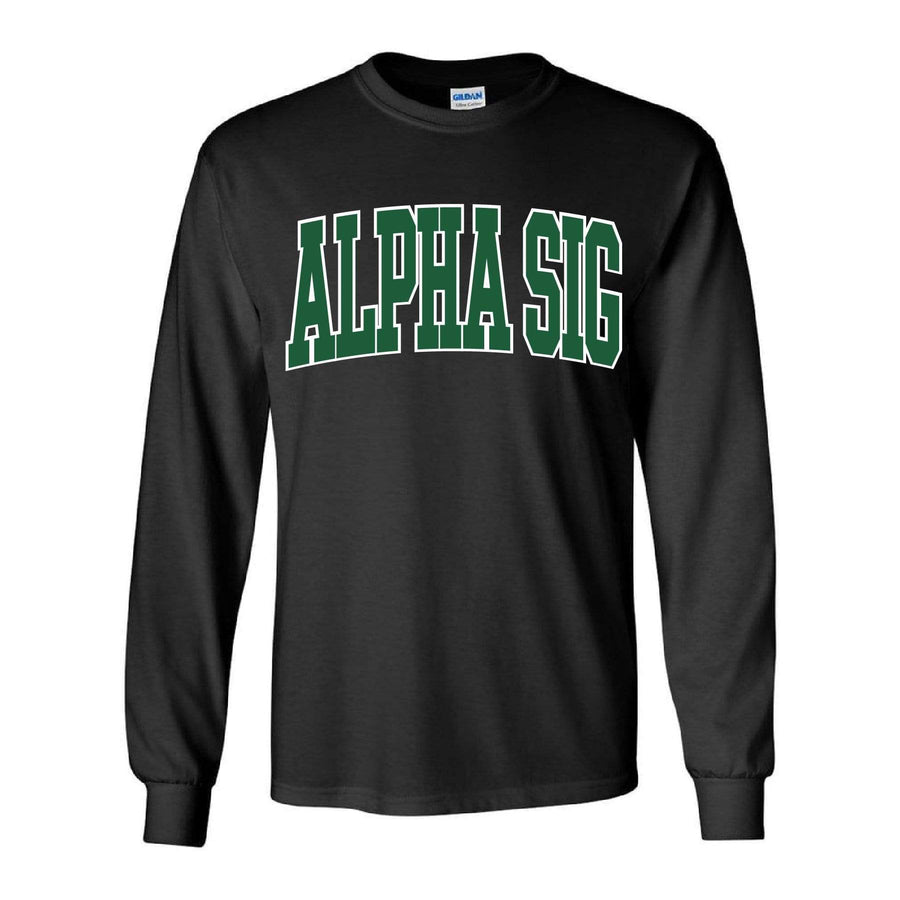 Hunter Collegiate Long Sleeve Tee <br> (available for all organizations!)