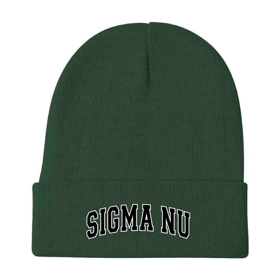 Hunter Embroidered Beanie <br> (available for all fraternities!)