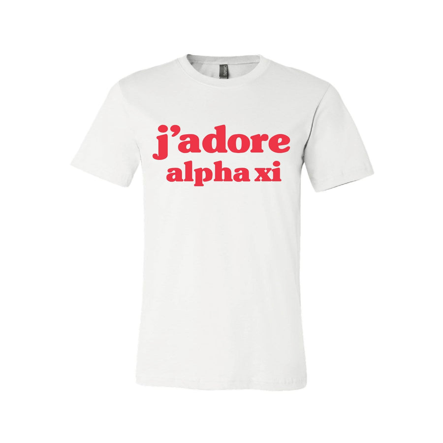 J'Adore Tee <br> (available for all organizations!)