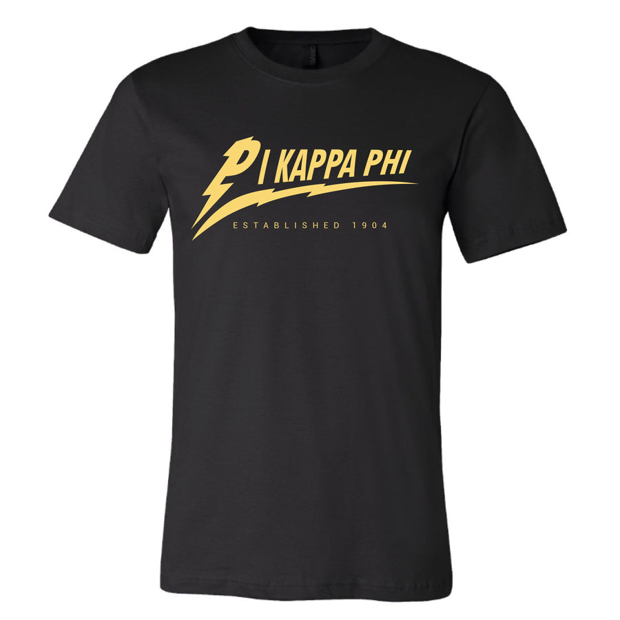 Lightning Tee <br> (available for all fraternities!)