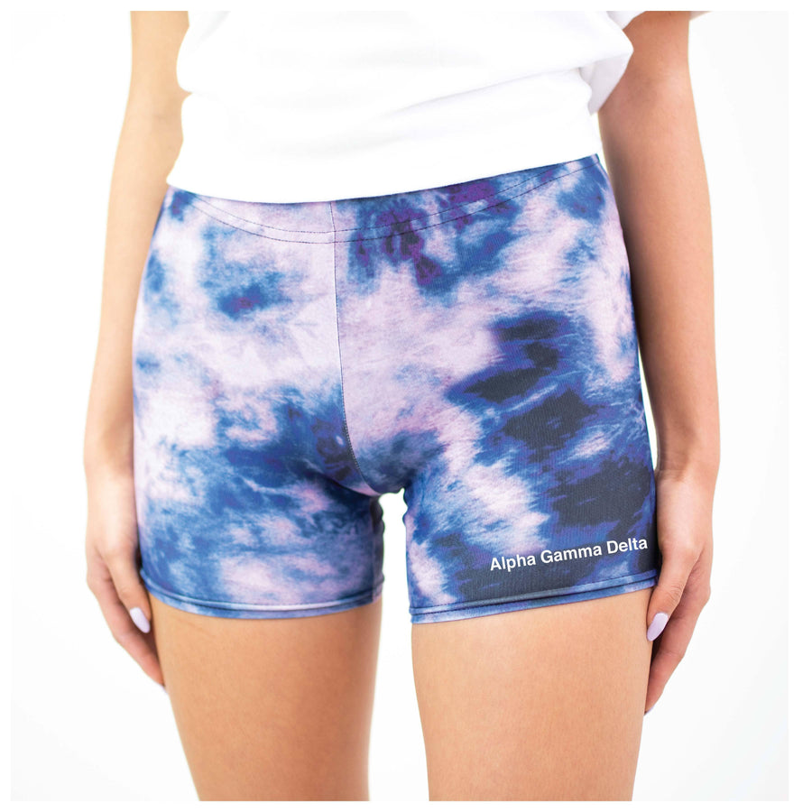 Lilac Tie Dye Biker Shorts <br> (available for all organizations!)
