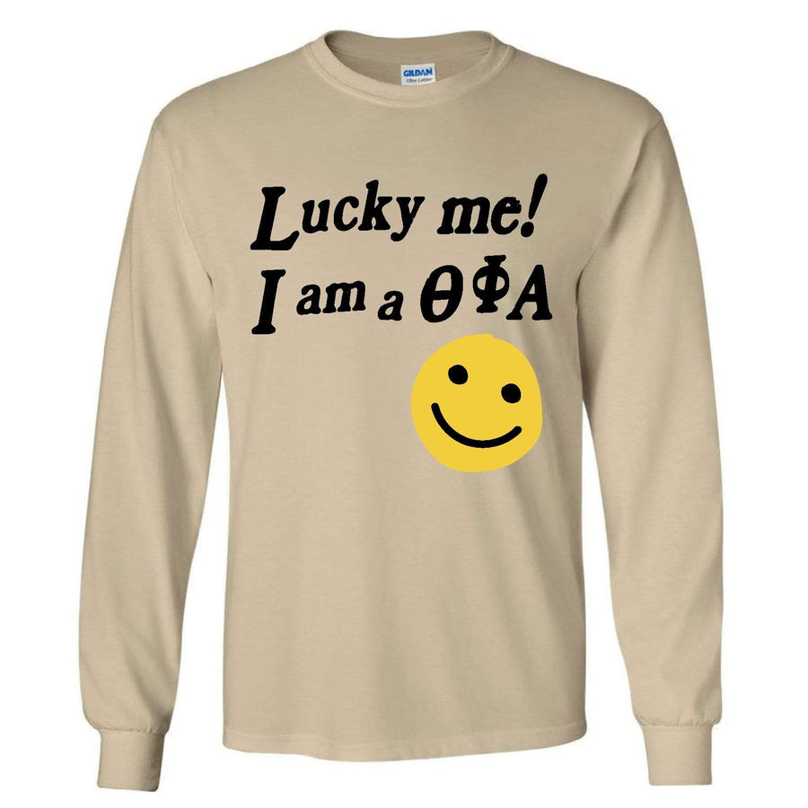 Lucky Me! Long Sleeve <br> (available for multiple sororities)