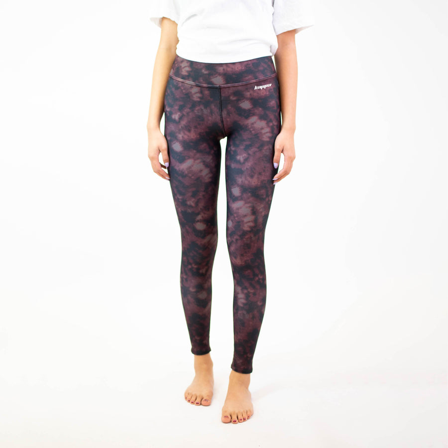 Maroon Tie Dye Yoga Leggings <br> (available for all organizations!)
