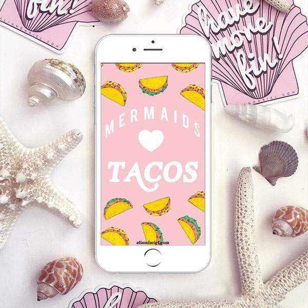 Mermaids Heart Tacos FREE iPhone Download