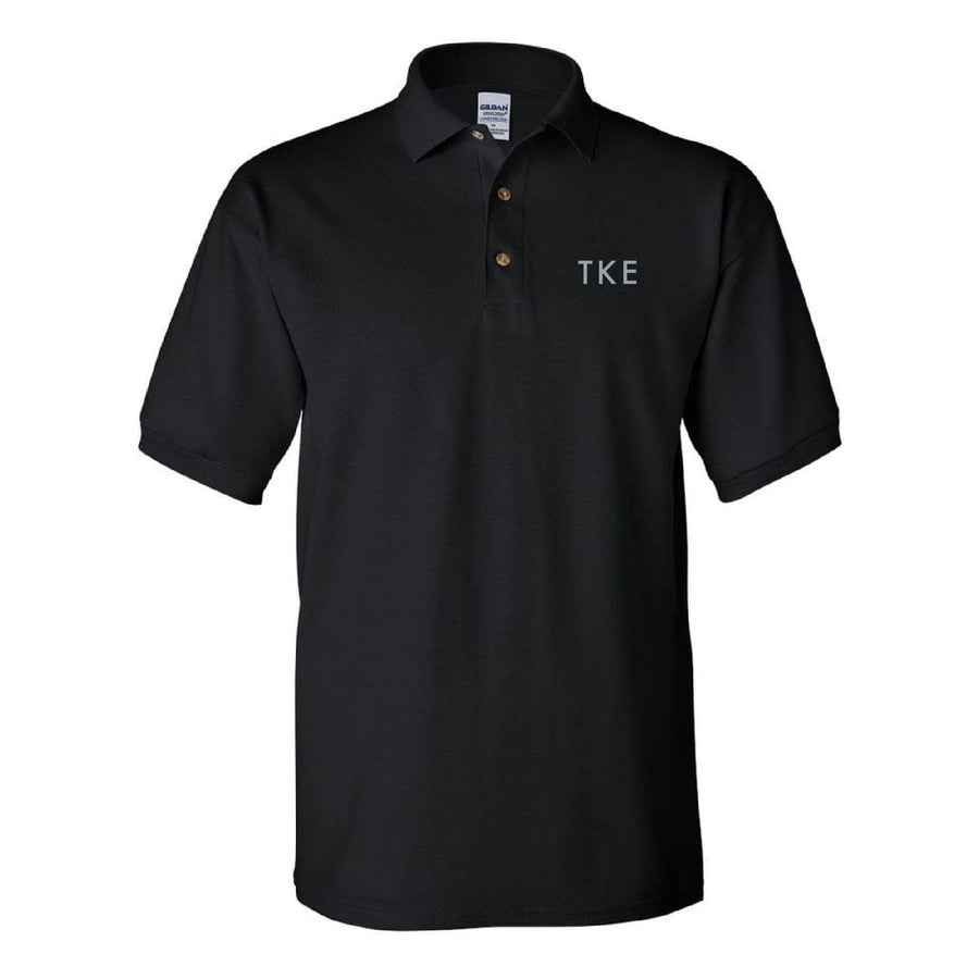 Modern Classic Embroidered Polo <br> (available for all fraternities!)