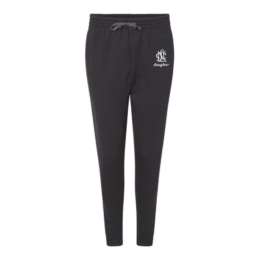 NCL Mom & Daughter Embroidered Icon Joggers