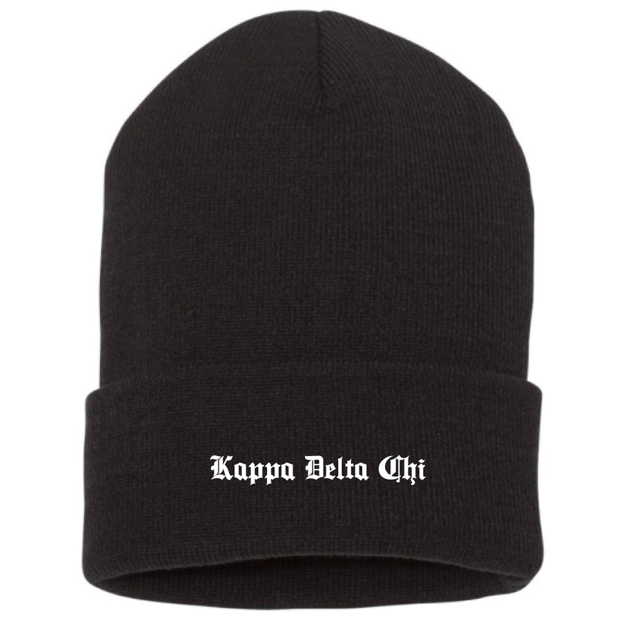 Old English Beanie <br> (available for multiple organizations!)