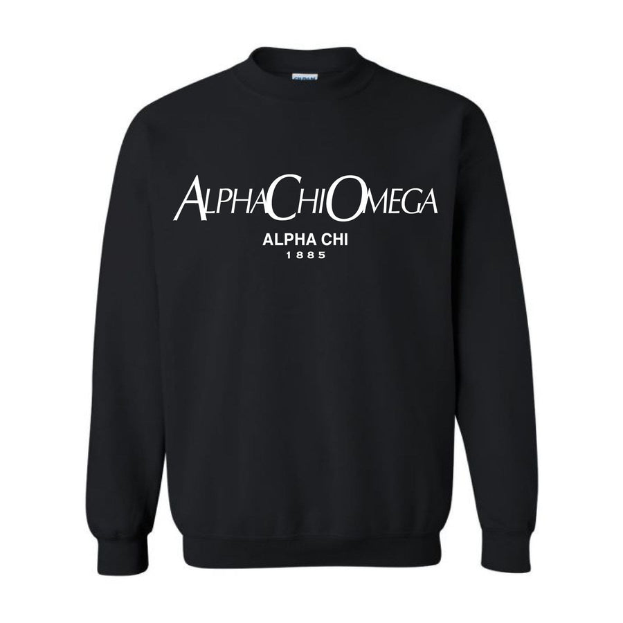 Ali & Ariel Paris Fleece Crewneck <br> (sororities A-D)