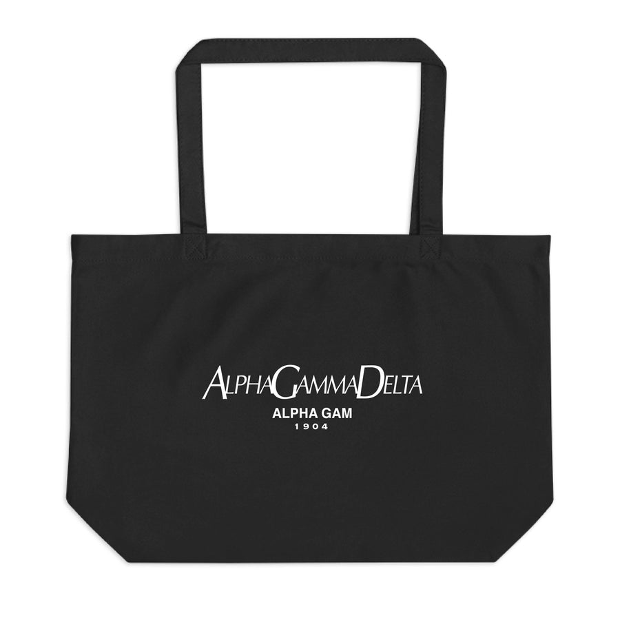 Ali & Ariel Paris Tote <br> (available for all sororities) Alpha Gamma Delta