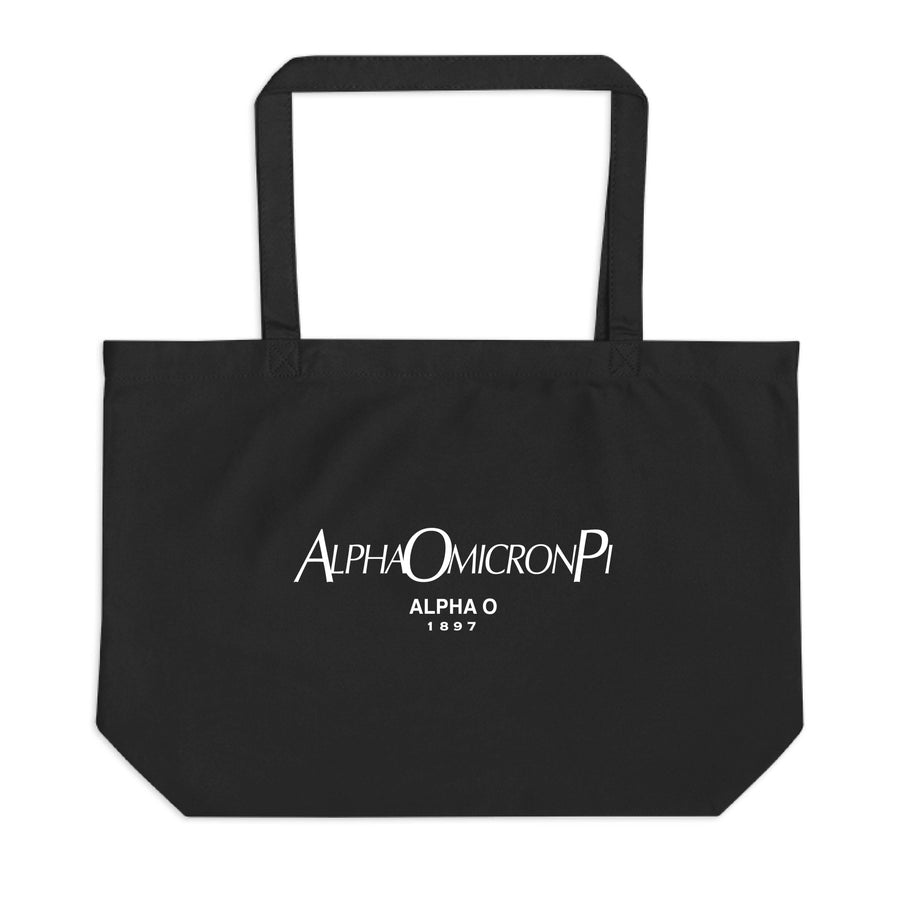 Ali & Ariel Paris Tote <br> (available for all sororities) Alpha Omicron Pi