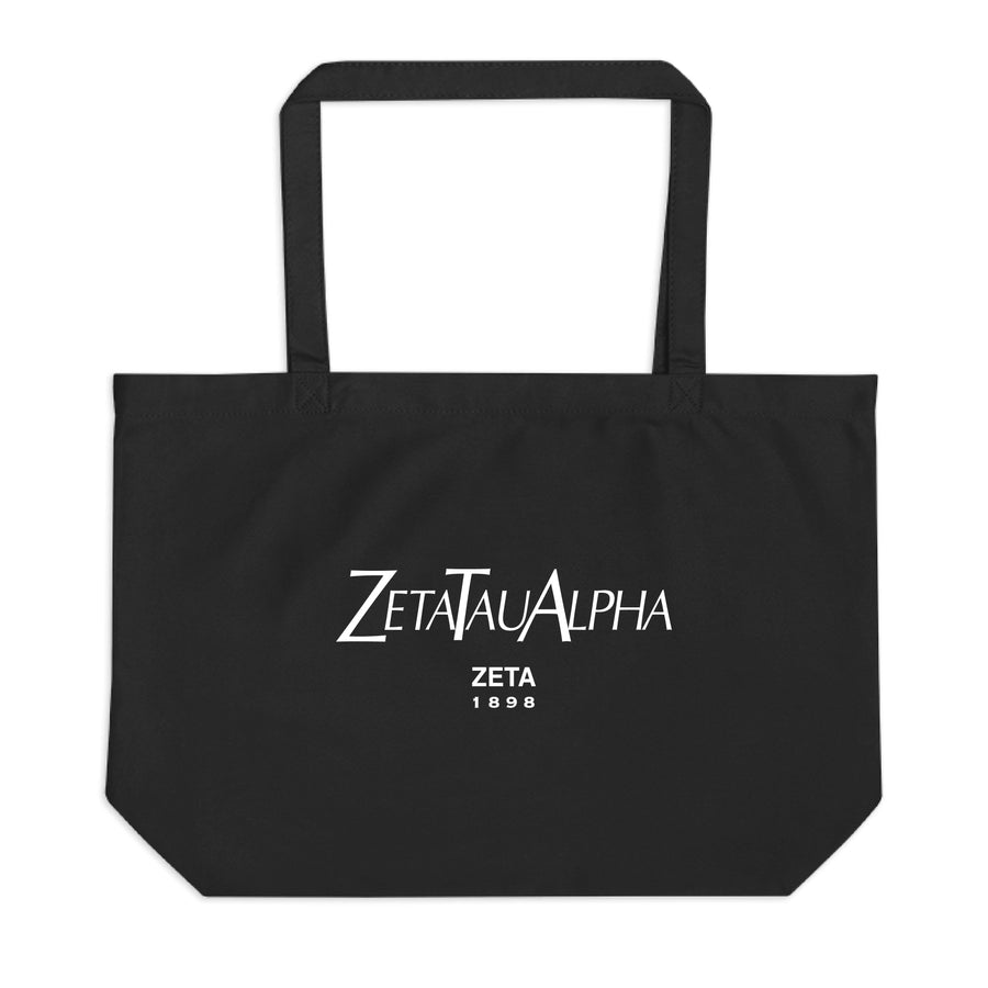 Ali & Ariel Paris Tote <br> (available for all sororities) Zeta Tau Alpha