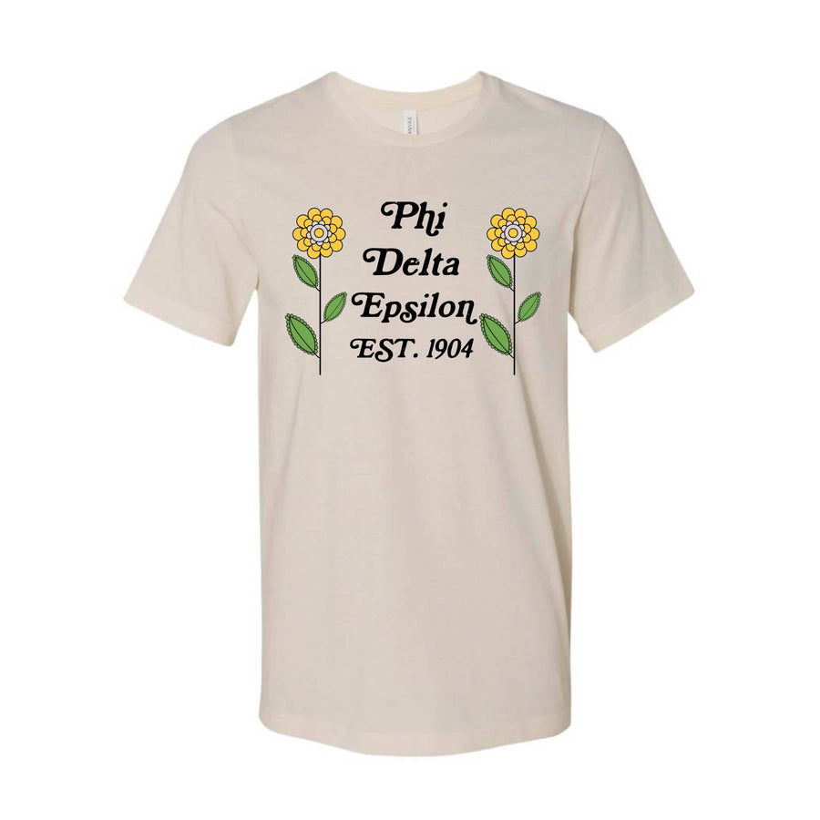 Petals Tee <br> (available for all organizations!)