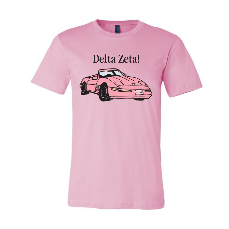 Pink Coupe Tee <br> (sororities A-D)