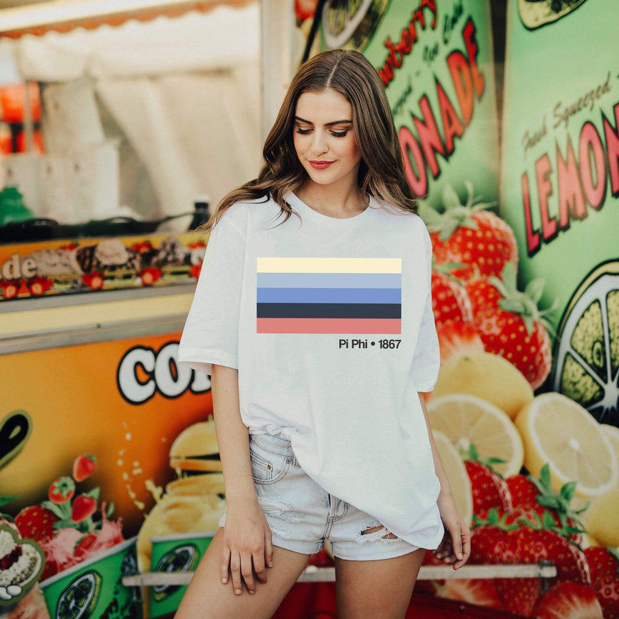 Prism Stripe Tee <br> (available for every organization!)