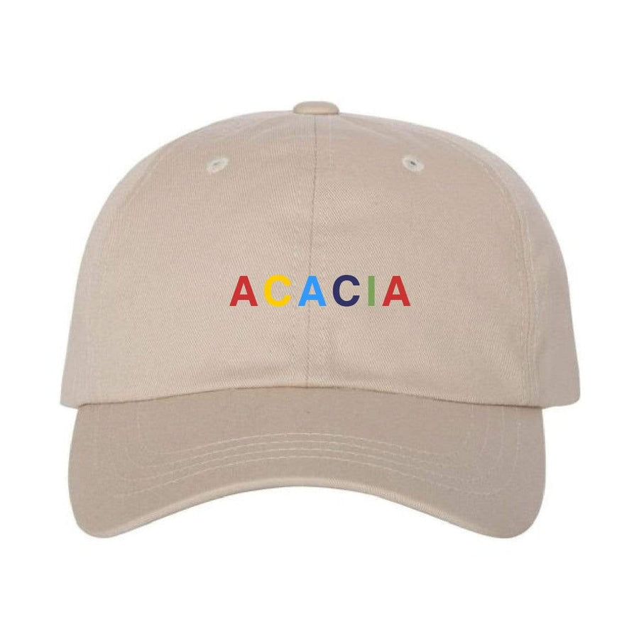 Ali & Ariel Rainbow Embroidered Hat <br> (available for all fraternities)