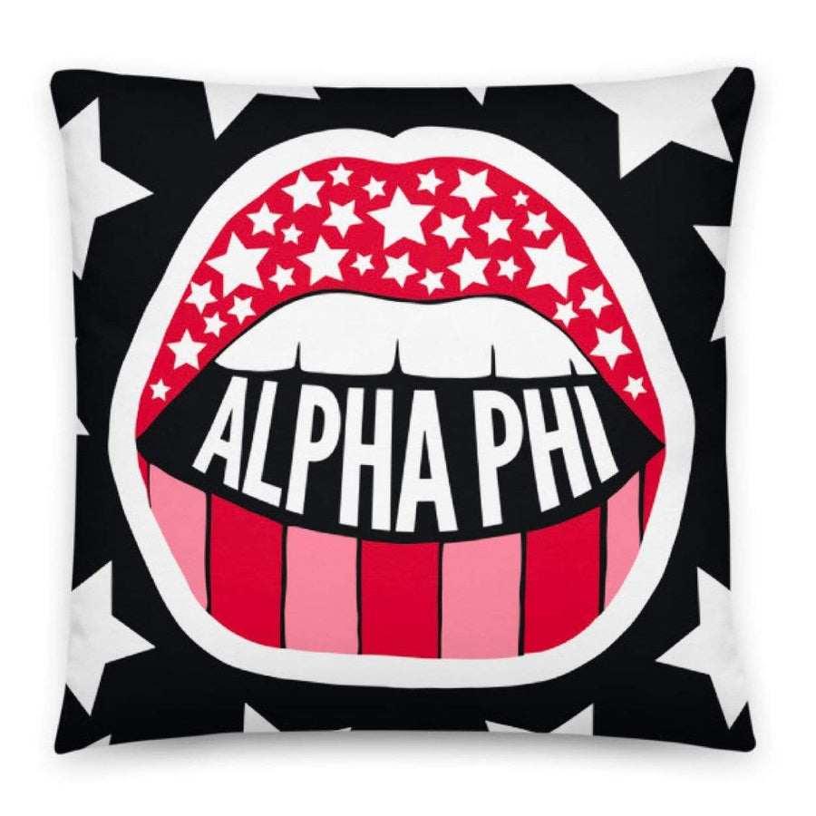 Read My Lips Pillow <br> (available for multiple sororities)