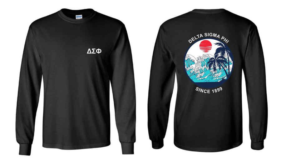 Riptide Long Sleeve <br> (available for multiple fraternities!)