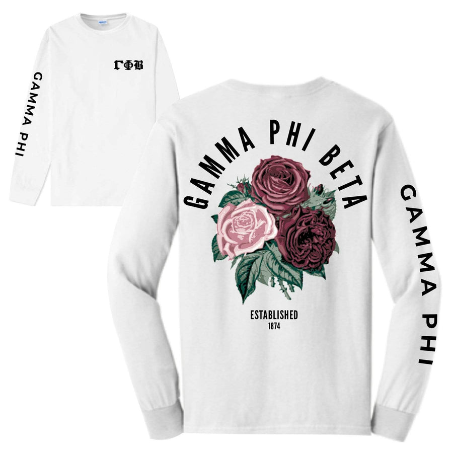 Rose Long Sleeve <br> (available for all organizations!)