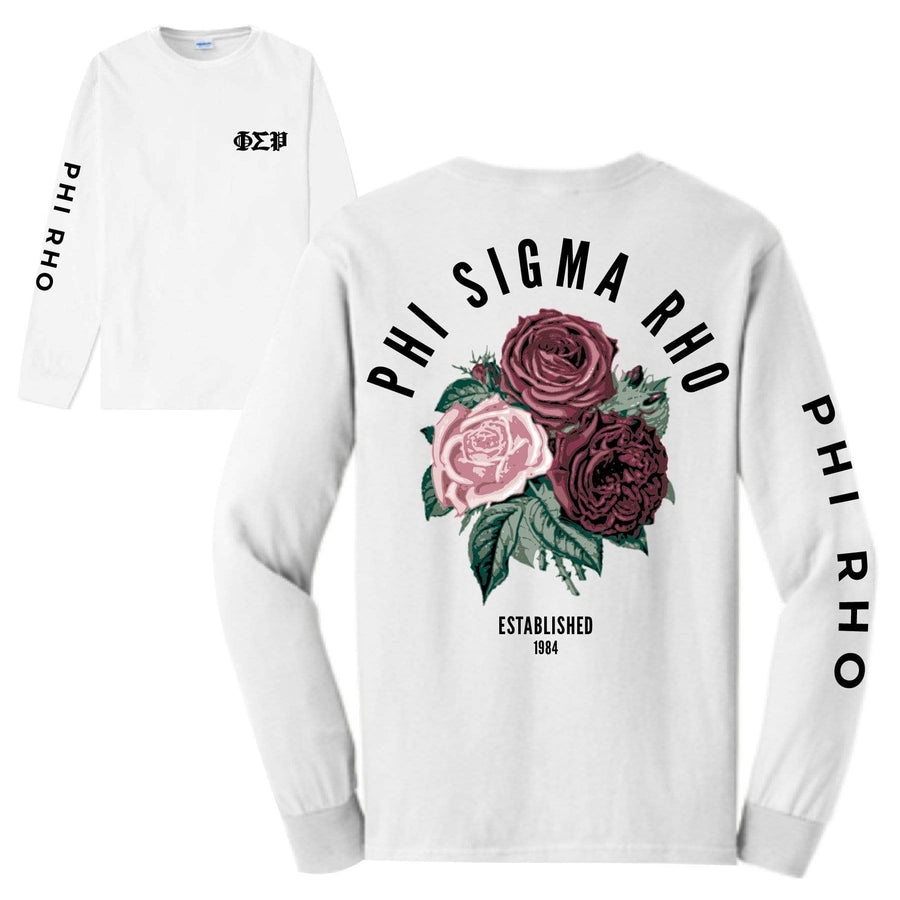 Rose Long Sleeve Tee <br> (available for all organizations!)