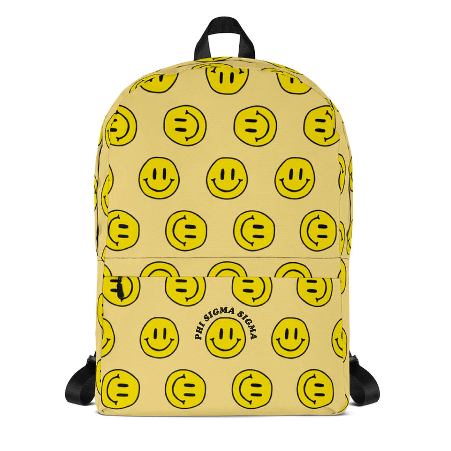 Ali & Ariel Smiley Backpack <br> (available for multiple organizations!)