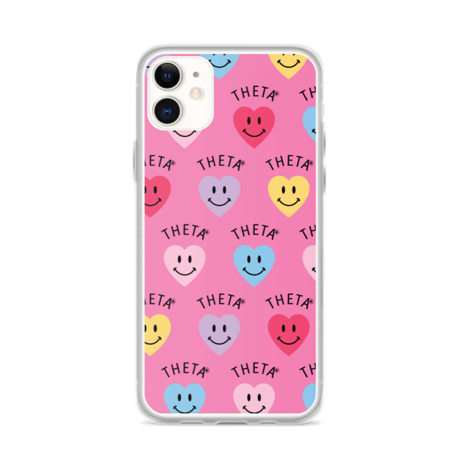 Smiley Heart iPhone Case <br> (iPhone 11 / 11 Pro / 11 Pro Max)