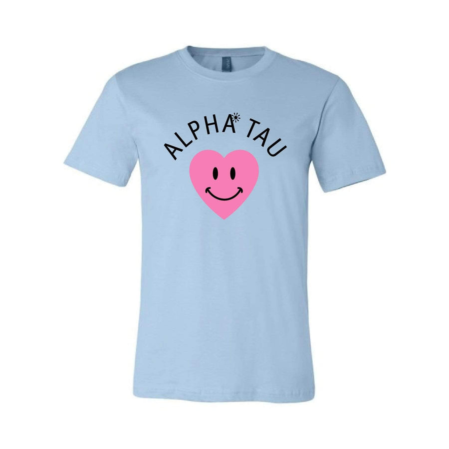 Smiley Heart Tee <br> (sororities A-D)