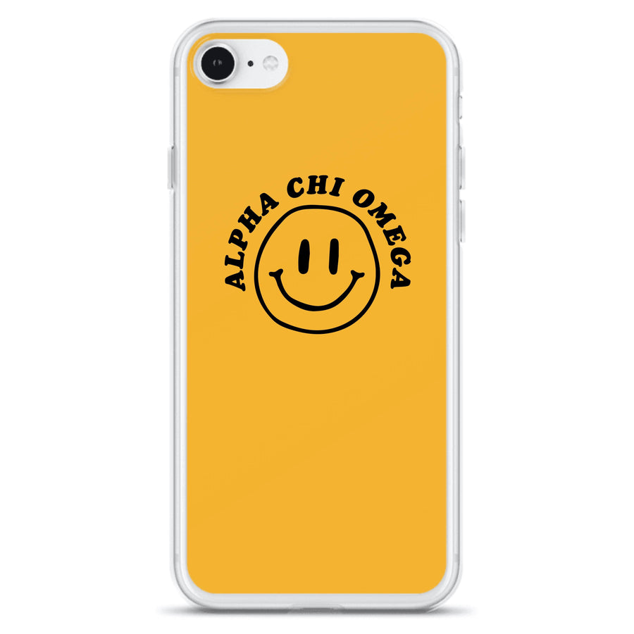 Ali & Ariel Smiley iPhone Case <br> (iPhone 11 Pro / 11 Pro Max / SE) Alpha Chi Omega / iPhone SE