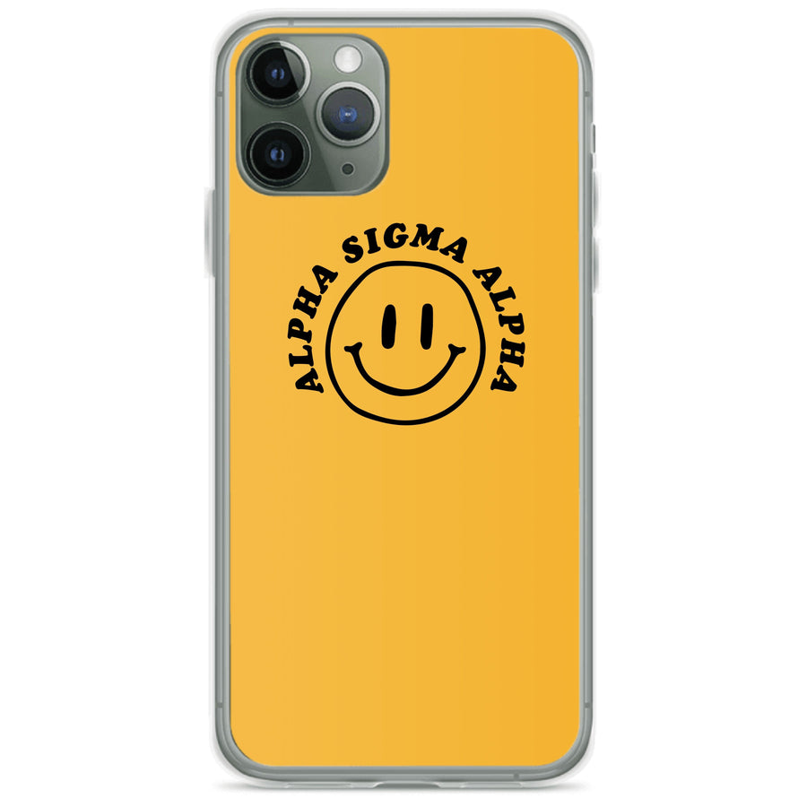 Ali & Ariel Smiley iPhone Case <br> (iPhone 11 Pro / 11 Pro Max / SE) Alpha Sigma Alpha / iPhone 11 Pro