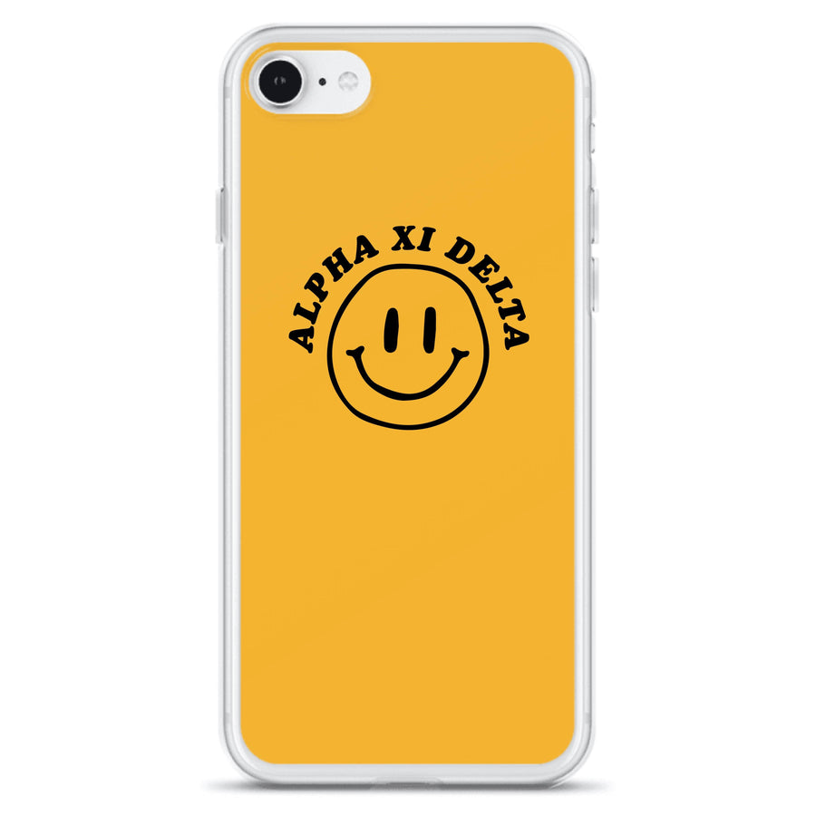 Ali & Ariel Smiley iPhone Case <br> (iPhone 11 Pro / 11 Pro Max / SE) Alpha Xi Delta / iPhone SE