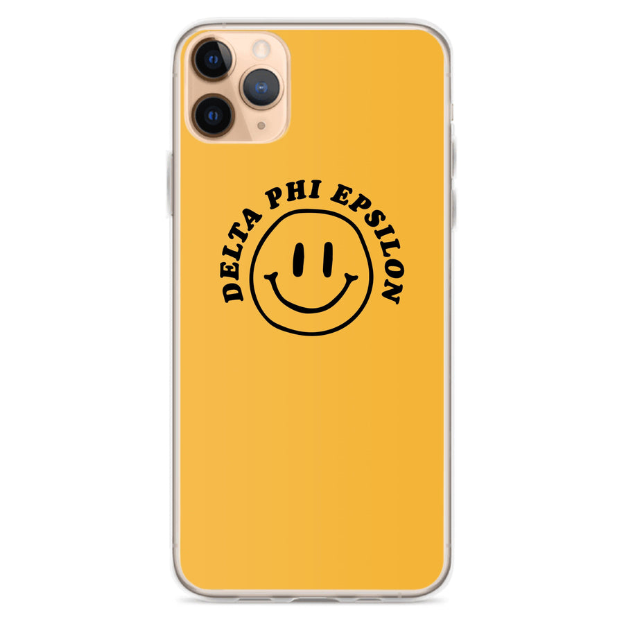 Ali & Ariel Smiley iPhone Case <br> (iPhone 11 Pro / 11 Pro Max / SE) Delta Phi Epsilon / iPhone 11 Pro Max