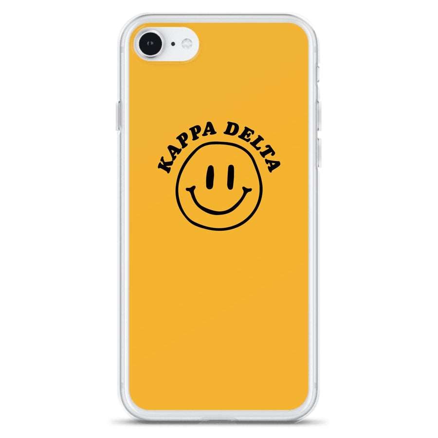 Ali & Ariel Smiley iPhone Case <br> (iPhone 11 Pro / 11 Pro Max / SE) Kappa Delta / iPhone SE