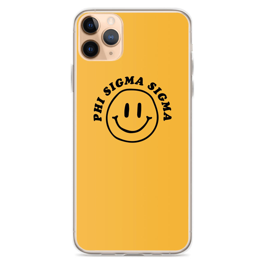 Ali & Ariel Smiley iPhone Case <br> (iPhone 11 Pro / 11 Pro Max / SE) Phi Sigma Sigma / iPhone 11 Pro Max