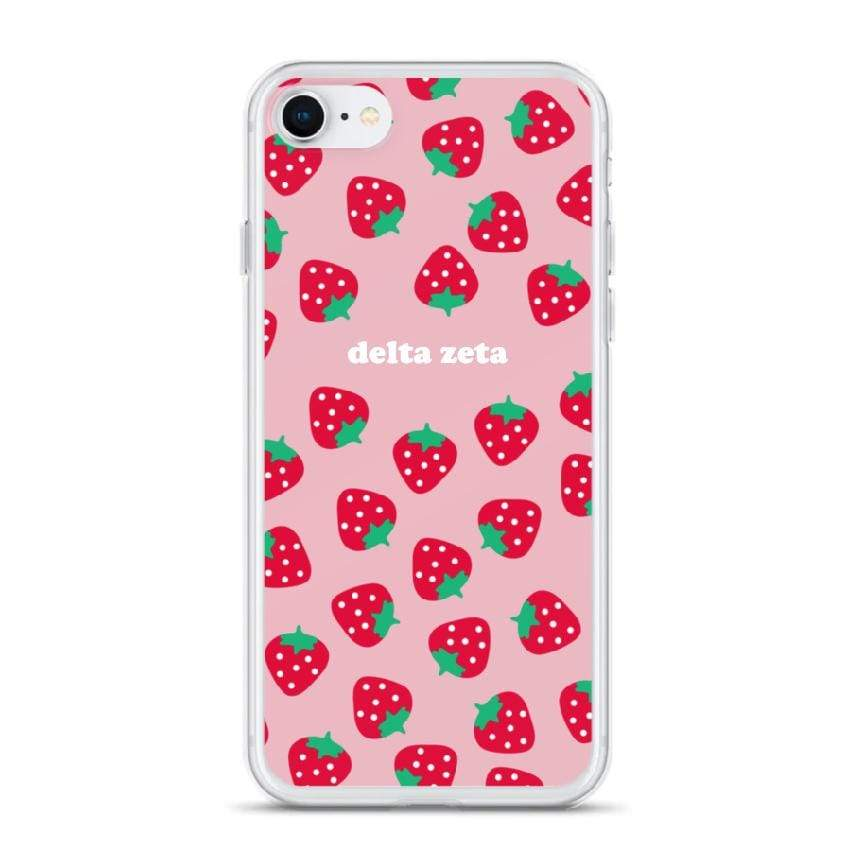 Strawberry iPhone Case <br> (iPhone 7 / iPhone 8)