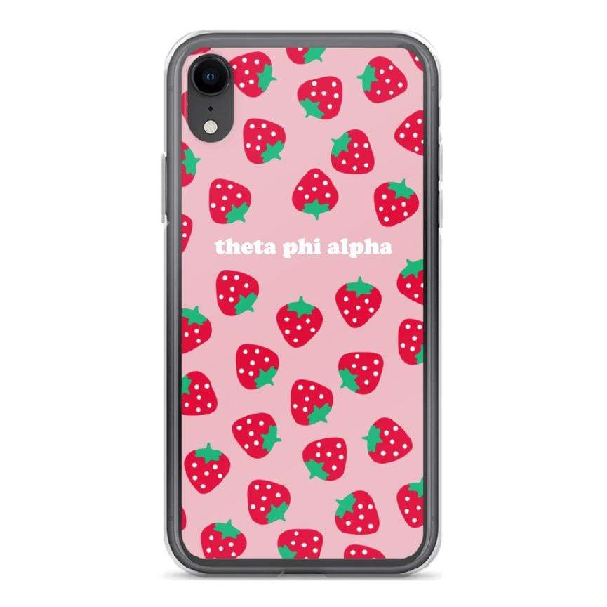 Strawberry iPhone Case <br> (iPhone XR / X/XS / XS Max)