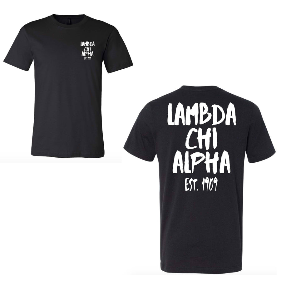 Streetwear Tee <br> (available for all fraternities!)