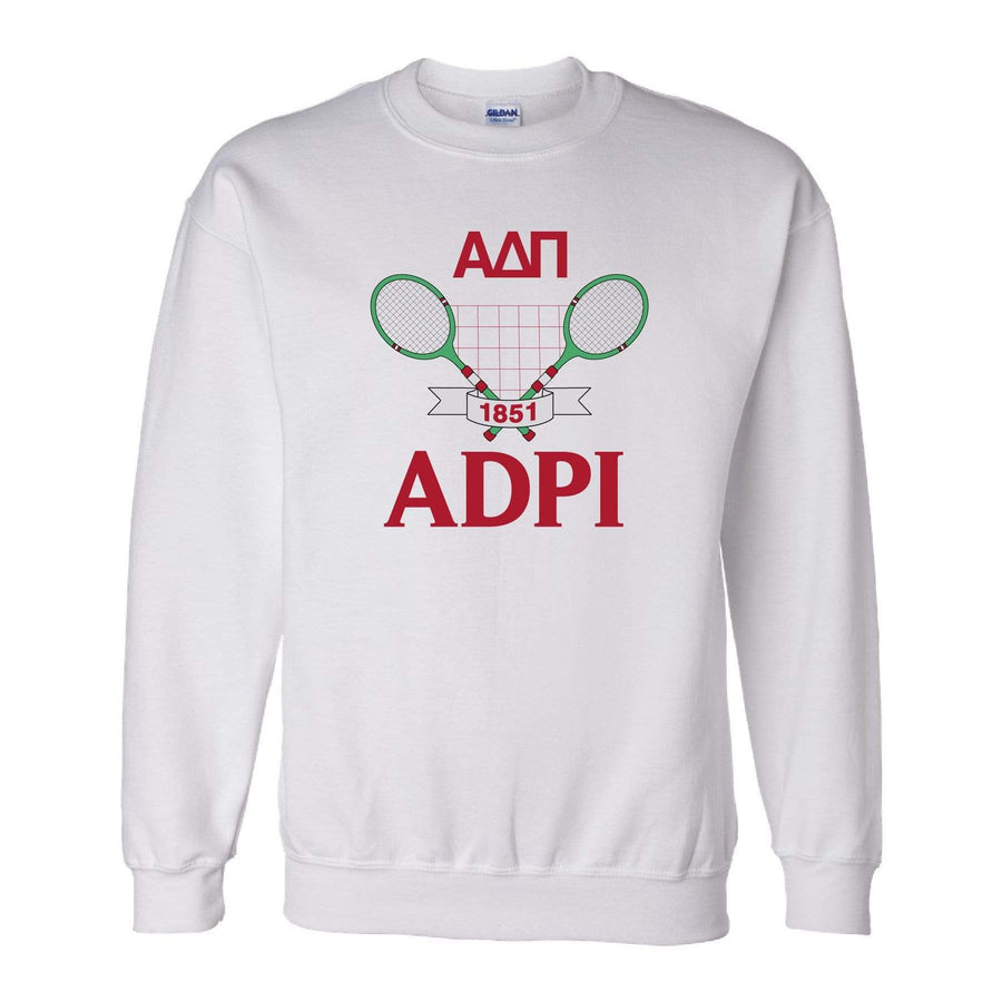 Ali & Ariel Tennis Fleece Crewneck <br> (sororities A-D)