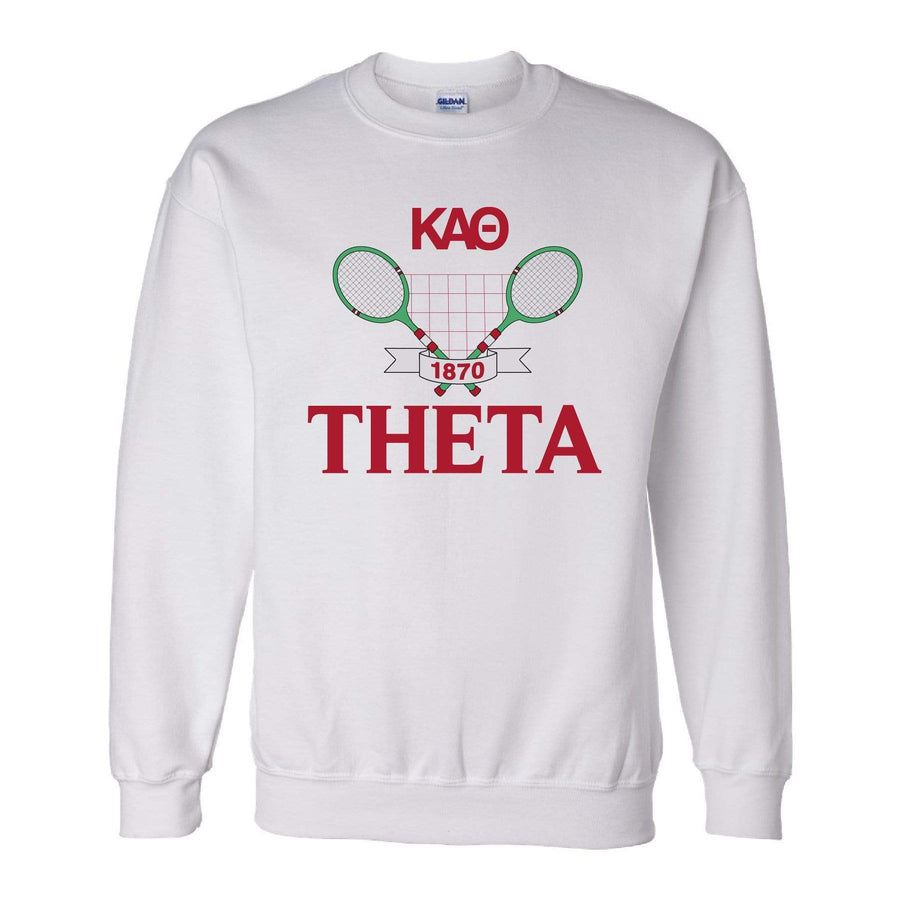 Ali & Ariel Tennis Fleece Crewneck <br> (sororities G-Z)