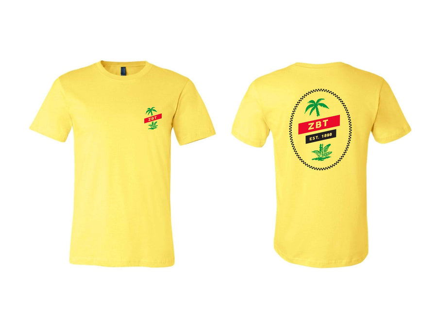 Twin Palms Tee <br> (available for multiple fraternities!)
