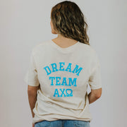 Ali & Ariel Varsity Dream Team Tee <br> (sororities G-Z)