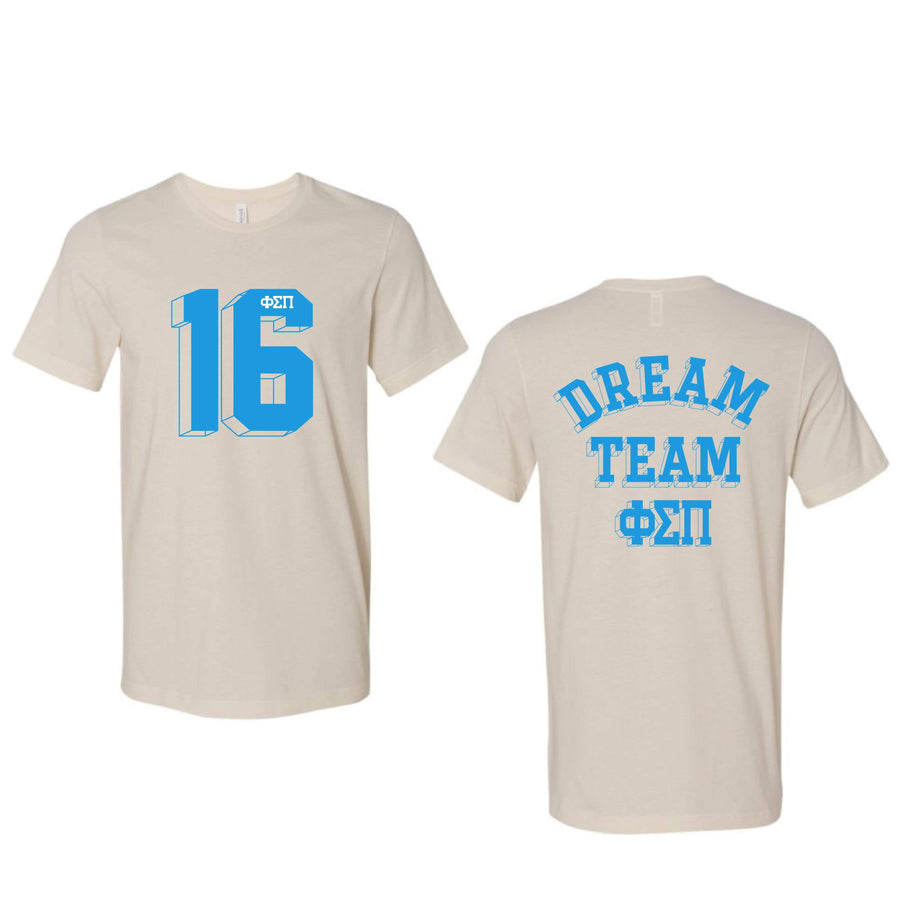 Varsity Dream Team Tee <br> (sororities G-Z)