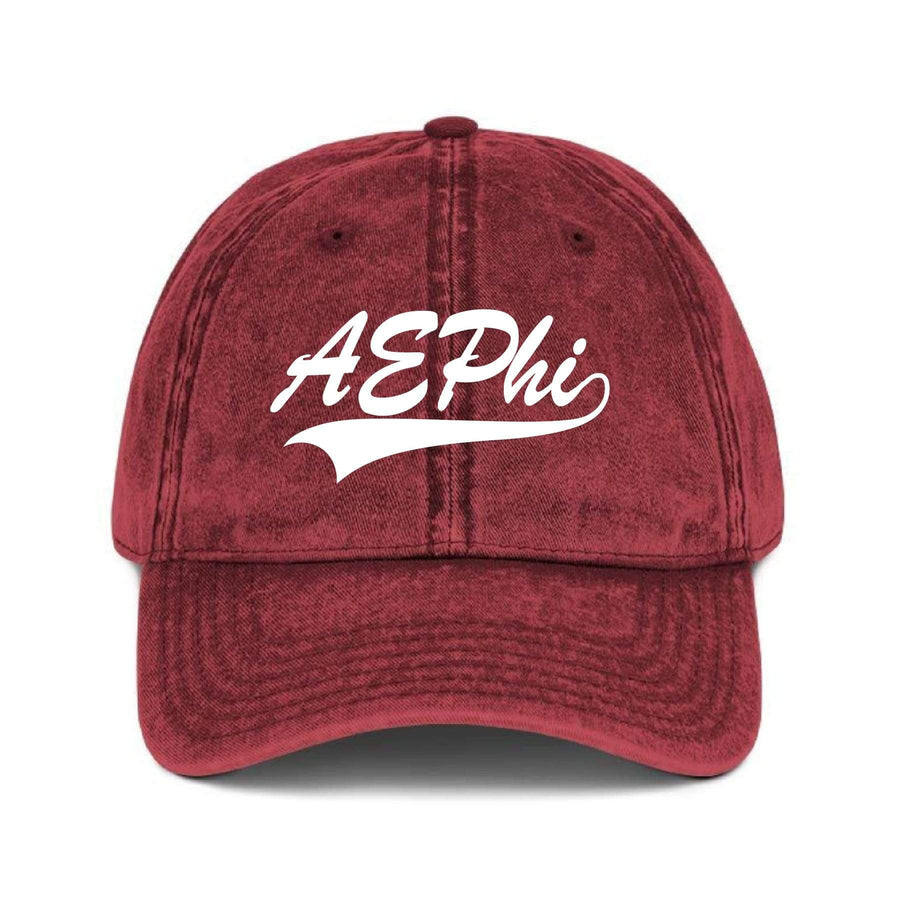 Vintage Baseball Hat - Maroon <br> (available for multiple organizations!)