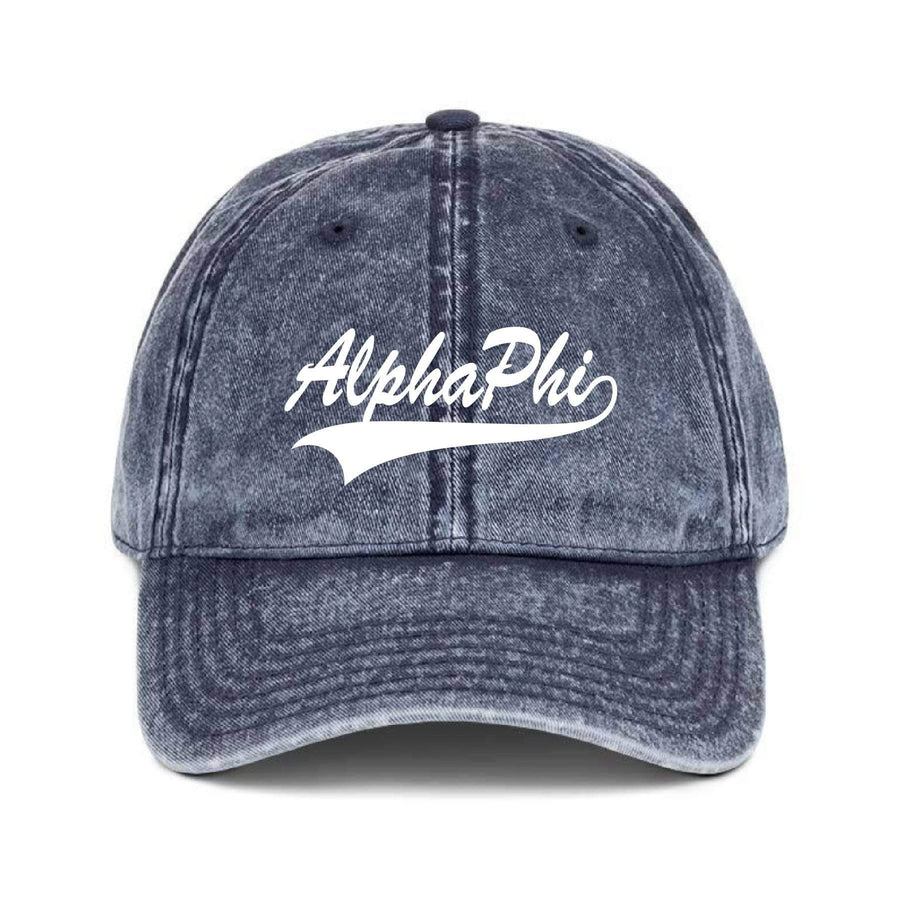 Vintage Baseball Hat - Navy <br> (available for multiple organizations!)