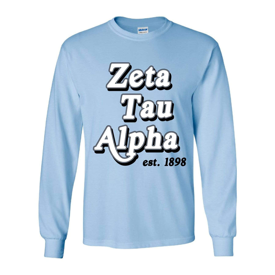 Vintage Classic Long Sleeve <br> (available for all organizations!)