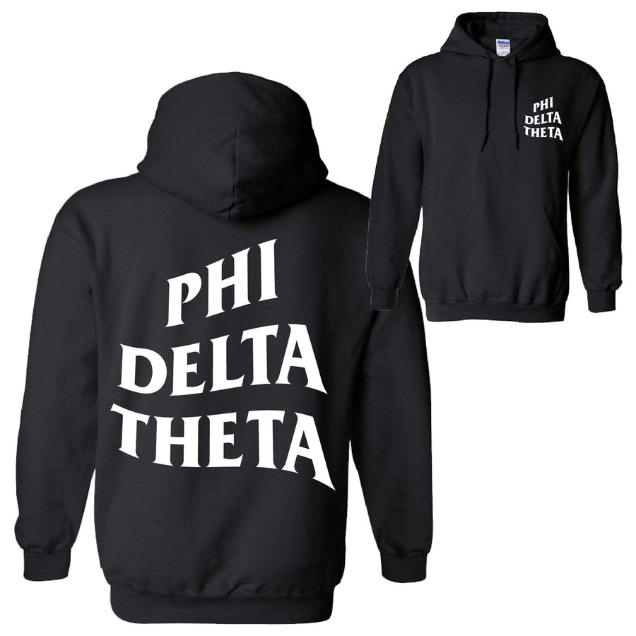 Warped Hoodie <br> (available for all fraternities!)