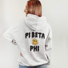 Ali & Ariel White Heart Eyes Hoodie <br> (sororities G-Z)