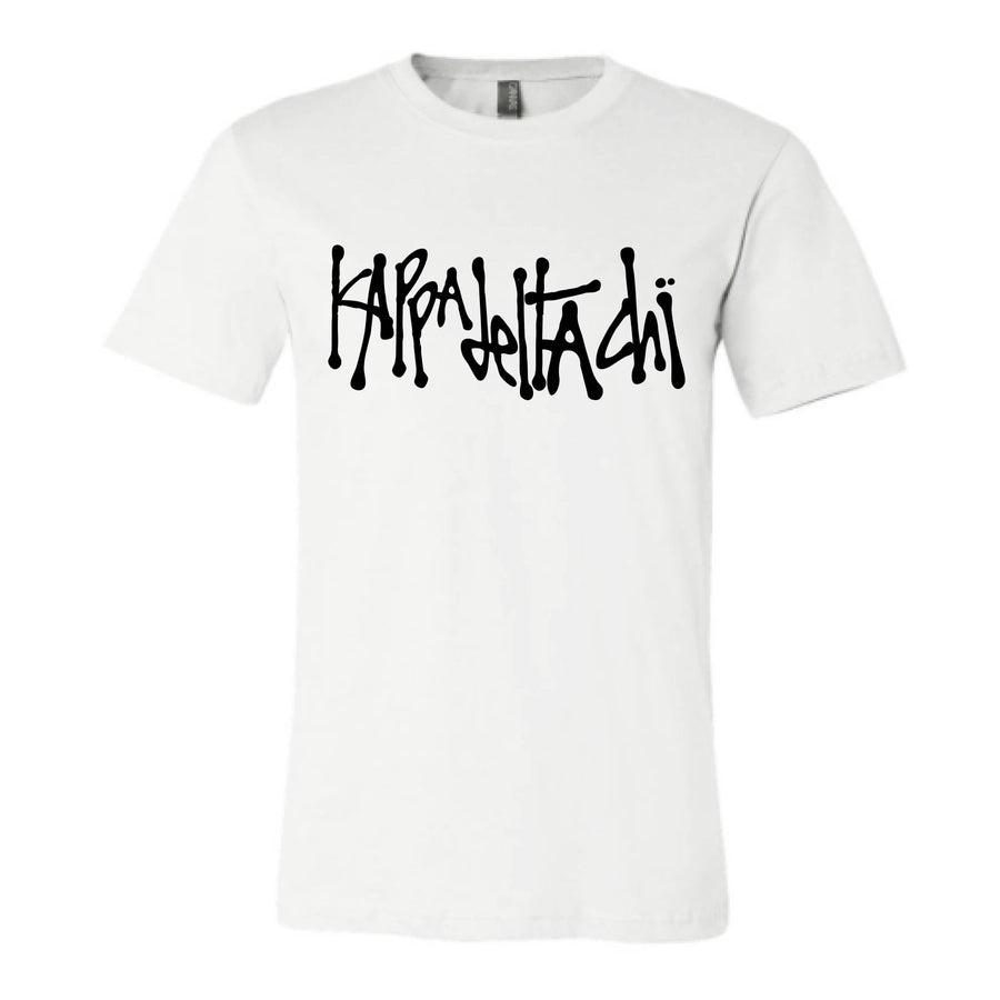 White Scribble Tee <br> (available for multiple organizations!)