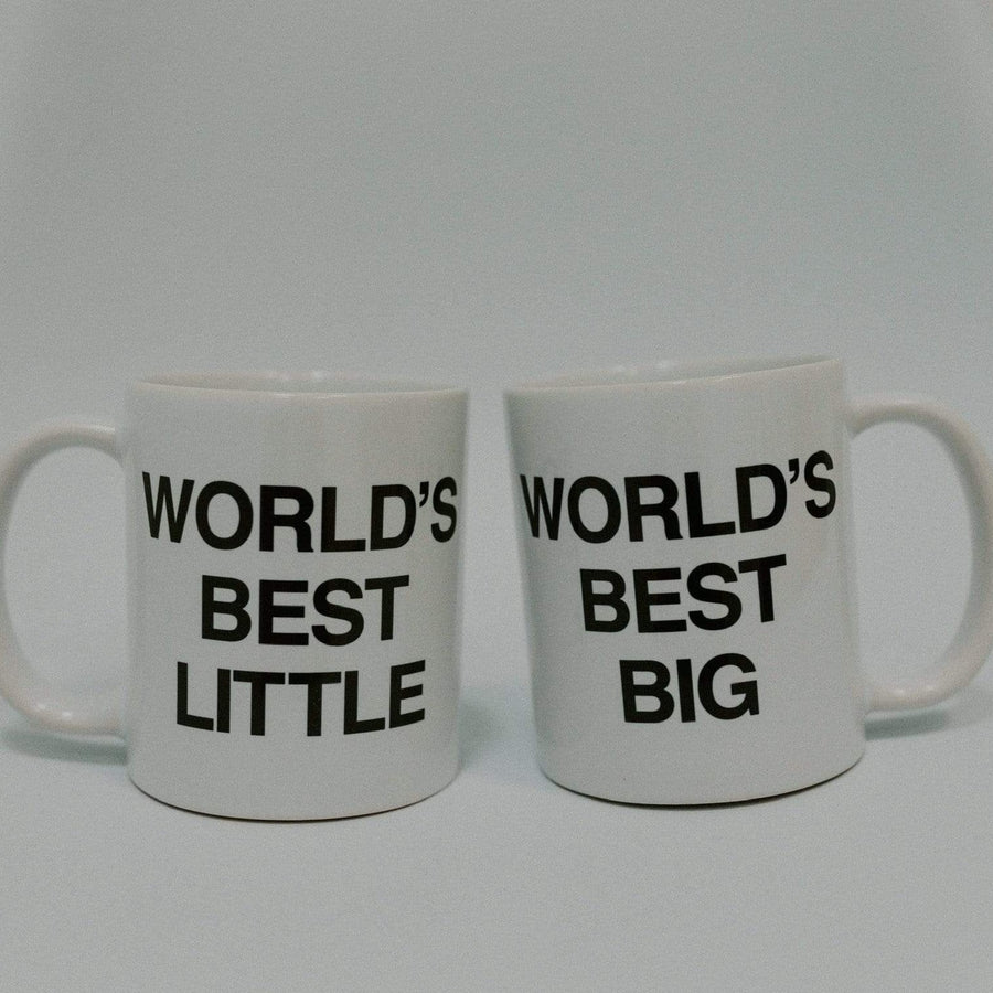 Ali & Ariel World's Best Big Little Mugs
